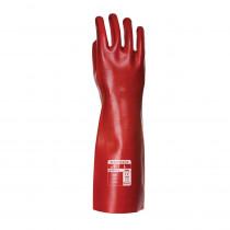 Gants PVC rouge taille 10/XL Portwest