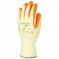 Gants de manutention double enduction Latex Eurotechnique 3865 (lot...