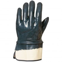 Gants de manutention Lourde double enduction Nitrile Eurotechnique ...
