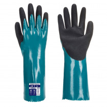 Gants manchette de protection chimique Portwest Sandy Grip Lite