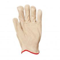 Gants de protection cuir de vachette Eurotechnique 1110 (lot de 12 ...