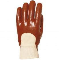 Gants de protection PVC Eurotechnique 3410 (lot de 10 paires de gants)