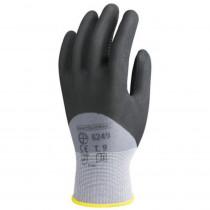 Gants de travail précision Nylon enduit Nitrile Eurotechnique 6250 ...