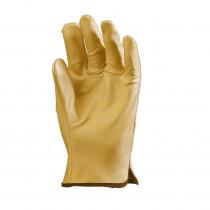 Gants de travail cuir Eurotechnique 2210 (lot de 12 paires de gants)