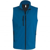 Bodywarmer softshell Kariban Bleu Royal