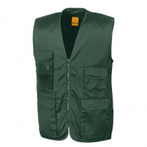 Gilet multipoches Safari Result vert