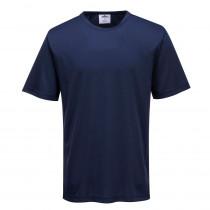 T-shirt de travail Portwest Monza Marine face