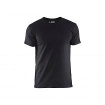 T-shirt slim fit Blaklader Noir