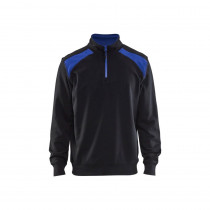 Sweat col camionneur Blaklader bicolore