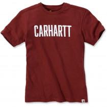 T-shirt de travail Carhartt LOGO BLOCK