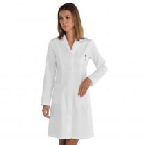 Blouse blanche laboratoire femme Isacco Valencia 100% coton