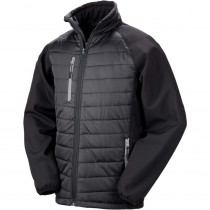 Veste softshell Result BLACK COMPASS
