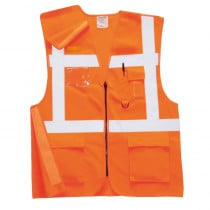Gilet haute visibilité Portwest Executive Rail GO/RT