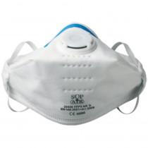 Masque respiratoire pliable Sup Air à valve FFP3 D NR (boite de 20)