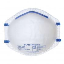 Masques respiratoires coque Portwest FFP2 (boite de 20 masques)