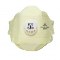 Demi masque Sup Air à usage unique FFP3 NR D (boite de 20)