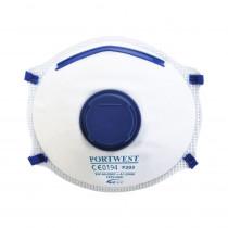Masque respiratoire avec valve Portwest FFP2 NR D DOLOMITE (boite d...