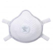 Masque respiratoire ergonomique avec valve Portwest NR D FFP3 (boit...
