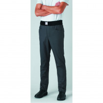 Pantalon de cuisine mixte slim ceinture éponge Robur Archet