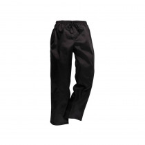 Pantalon de cuisine Portwest Drawstings noir