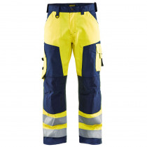 Pantalon de travail haute visibilité Blaklader LIGHT WEIGHT genoux ...