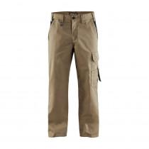 Pantalon de travail polycoton Blaklader Industrie bicolore