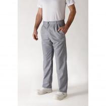 Pantalon de cuisine mixte rayé Robur Alize