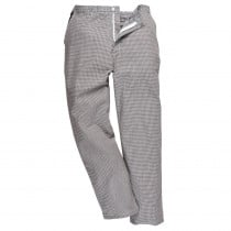 Pantalon de cuisine déperlant Portwest Harrow