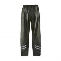 Pantalon de pluie Blaklader Vert armée devant