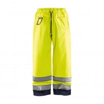 Pantalon de pluie haute visibilité Blaklader Jaune/Marine avant