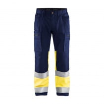 Pantalon artisan haute visibilité Blaklader +STRETCH