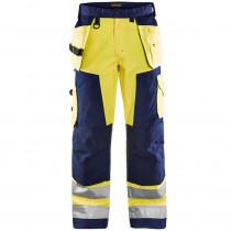 Pantalon de travail haute visibilité Blaklader Artisan classe 2 ave...