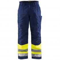 Pantalon de travail haute visibilité matelassé Blaklader Hiver