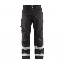 Pantalon de travail Blaklader haute visibilité transport