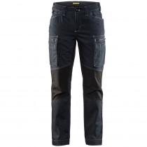 Pantalon de services femme stretch Blaklader Cordura Denim