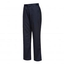 Pantalon de travail femme Portwest Magda Marine profil