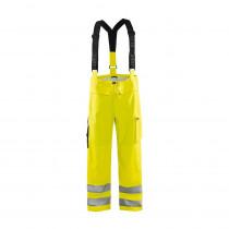Pantalon de pluie à bretelles haute visibilité retardant-flamme Blaklader