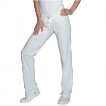 Pantalon de travail médical femme blanc Isacco Pantajersey