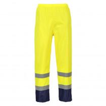 Pantalon de pluie haute visibilité Portwest Bicolore