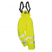 Pantalon haute visibilité Multirisque doublé Portwest Bizflame anti...