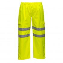 Pantalon imperméable à haute visibilité Portwest Extreme Jaune face