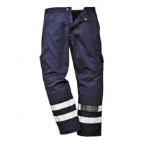 Pantalon à genouilères Portwest Iona bandes réfléchissantes