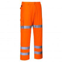 Pantalon haute visibilité Combat 3 bandes Portwest poches genouillères