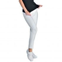 Legging femme long blanc Isacco