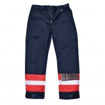 Pantalon ignifugé bicolore antistatique Portwest Bizweld