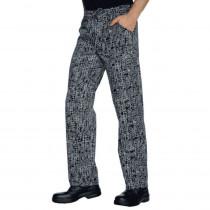 Pantalon de cuisine Isacco San Francisco 100% coton Unisexe