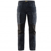 Pantalon de services femme stretch Blaklader Cordura Denim