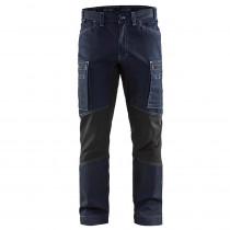 Pantalon de travail Blaklader services stretch cordura denim