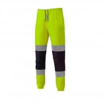Pantalon jogging haute visibilité Dickies jaune