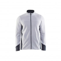 Veste micropolaire Blaklader Blanc face